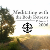 Meditating with the Body 2006 Retreats: Volume 1